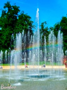 The rainbow fountain by Giorgia Parisi Bamboo on 500px thanks to everyone