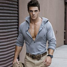 Who is this model?! He's now number 2 on my list of most gorgeous men.