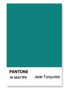 Pantone Jade :)