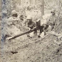"The Lahti L-39 20 mm anti-tank rifle, seen here with a Finnish Army crew, was used during WW2. It was accurate and could penetrate armor in the opening phases of the war. Its size and weight though made transportation ifficult. It was nicknamed ""Norsupyssy"" (""Elephant Gun""), and as tanks developed armor too thick for the Lahti to penetrate its uses switched to long range sniping, tank harassment and with the L-39/44 fully automatic variant, an improvised anti-aircraft weapon."