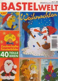 Bastelwelt karácsony - Angela Lakatos - Picasa Webalbumok Painting Crafts For Kids, Christmas Paper, Free Books, Paper Crafts, Holiday, Projects, Patterns, Albums, Magazine