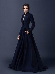 Coat gown