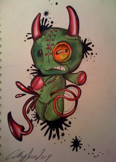 voodoo devil by oldboot1