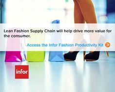 Infor provides fashion industry software solutions. Supply Chain Software Solutions for fashion industry useful at design to distribution of fashion products.