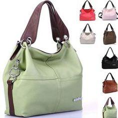 cd5998eae Women's PU Handbag Tote Trendy Shoulder Bags Messenger Cross Body Bag Bolsos  De Moda, Bolsos