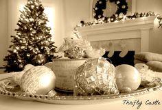 Shabby Elegance Christmas Decorating: Tips For Thrifty Shopping