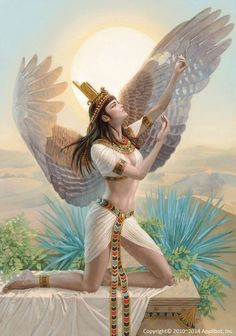 Gods fantasy art egyptian