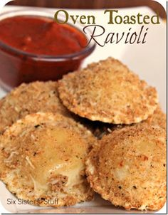 Oven Toasted Ravioli Recipe