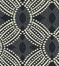 HGTV Home Upholstery Fabric Time Zone Onyx, , hi-res