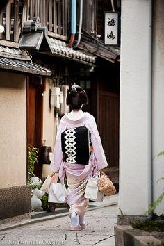 geiko (geisha) | japanese culture #kimono