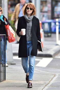 Eu Adoro!   Fiz uma seleção de Looks Boyfriend. Encontre aqui  http://imaginariodamulher.com.br/?orderby=rand&per_show=12&s=boyfriend&post_type=product