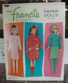 Francie Paper Dolls