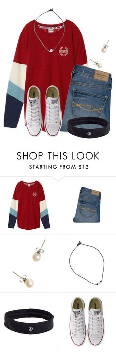 """""""3 DAYS UNTIL CHRISTMAS """" by flroasburn ❤ liked on Polyvore featuring Victoria's Secret, Abercrombie & Fitch, J.Crew, lululemon and Converse"""