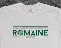 Romaine Lettuce tshirt - Men's Unisex Short Sleeve Crew Neck T-Shirt - Vegetable Puns - Dad Jokes - Gifts for Him - funny tshirt