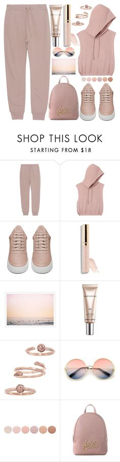 """""""Fresh Air"""" by grozdana-v ❤ liked on Polyvore featuring T By Alexander Wang, RVCA, Filling Pieces, Beautycounter, CC, Kendra Scott, ZeroUV, Deborah Lippmann and Love Moschino"""
