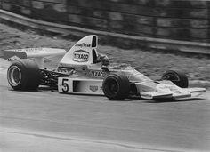 Emerson Fittipaldi foi campeão com a McLaren já em seu primeiro ano no time (Foto: Getty Images))