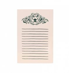 Do or Die Tear-Off Notepad
