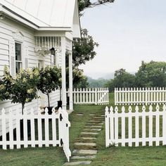 Romantic, charming, easy.  What woman doesn't want the white picket fence home on the corner....with a view?