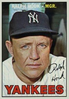 468 Ralph Houk 1967 Topps