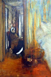 Edgar Degas - The Nurse at New York Metropolitan Art Museum   por mbell1975