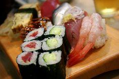 Eat sushi overlooking Tokyo