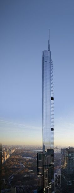 New York da vertigini, sempre più in alto! Nordstrom Tower, 217 West 57th Street Tower, New York City U.S.A.