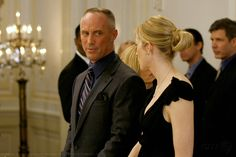 "Kelly Rutherford as Lily van der Woodsen and Robert John Burke as Bart Bass ""Woman on the Verge"""