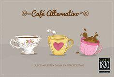 ¿Cuál es tu tipo de café?