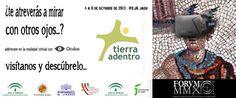Presentación del proyecto FORVM MMX (Yacimiento arqueológico de Cástulo) de realidad virtual 3D inmersiva en la Feria de Turismo Tierra Adentro, en en IFEJA, (Jaén), los días 4, 5 y 6 de octubre de 2013