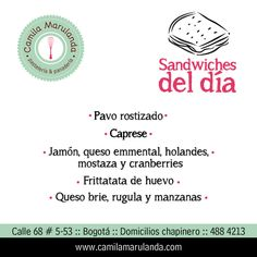 Sandwiches gourmet con ingredientes frescos.