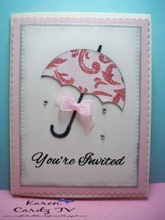 Little Scrap Pieces: You're Invited: Bridal shower invitation