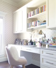 Home office cabinet. Home office cabinet design. Home office cabinet layout… Office Nook, Home Office Space, Home Office Desks, Office Furniture, Office Decor, Small Office, Office Inspo, Office Ideas, Office Spaces