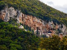 Picture of the monastery of Saint John the baptist or Prodromos The Menalon Trail Photograph by Nikos Pavlakis/Alamy Greece Opened: 2015 Length: miles kilometers) Best For: Finding the dales of Arcadynear Stemnitsa in Greece Thru Hiking, Hiking Trails, John Muir Way, Places To Travel, Places To See, Story Of The World, Best Hikes, National Geographic