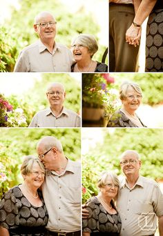 Example of anniversary photos. I had the chance to meet a couple of older couples celebrating their anniversary and they were the absolute cutest!