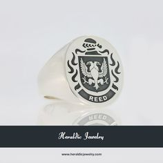 Reed family crest jewelry