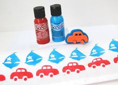 Little Car Fabric Stamp To Get Now