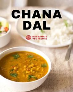 Here is a delicious North Indian recipe of spiced dal curry made with chana dal (split chickpea or bengal gram). Chana dal is high in fiber, a rich source of protein and also a good option for people who are on a low carb or diabetic-friendly diet. This is an easy recipe to make healthy and tasty chana dal! #chickpeas #chickpea #chana #sundal North Indian Recipes, Indian Food Recipes, Ethnic Recipes, New Recipes For Dinner, Vegetarian Recipes Dinner, Cooking Dishes, What's Cooking, Lentil Recipes, Veg Recipes
