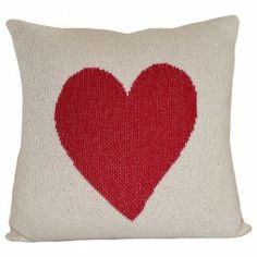Great for a childs bedroom or playroom, spread the love with this Heart cushion cover. Crafted from knitted recycled cotton and acrylic. Machine wash and dry makes caring for this pillow a breeze. Heart Cushion, Heart Pillow, Pillow Talk, Study Interior Design, Tooth Fairy Pillow, Valentine Crafts, Valentines, Joss And Main, Decorative Pillows