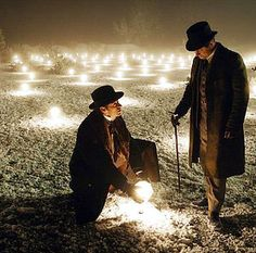 """The Prestige"" - I like the way that the points of light illuminates the whole scene. It creates a magical feeling."