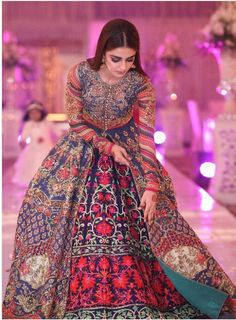 Maya Ali in Nomi Ansaris Dress Pakistani Bridal Dresses, Walima Dress, Pakistani Outfits, Indian Dresses, Mehendi Outfits, Anarkali Dress, Indian Wedding Outfits, Indian Outfits, Mehndi Dress