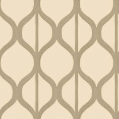 Shand Kydd Geometric Stripe Wallpaper for the back of the built-ins