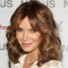 Jaclyn Smith, age 66 (age 62 in this picture)
