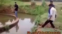 Man Funny Jump Very Funny Video Doesn't Miss
