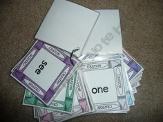 Pre-Primer Dolch Sight Word Flash Cards product from LittleAdventuresPreschool on TeachersNotebook.com