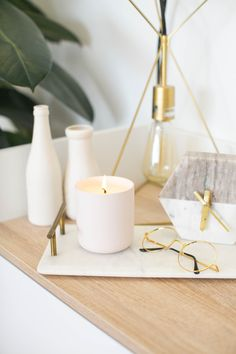 Modern Candles, Unique Candles, Luxury Candles, Beautiful Candles, Best Candles, Pink Candles, Soy Candles, Coffee Table Candle Decor, Image Bougie