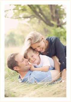 Fun pose for a family photo session!
