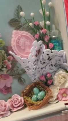 Designer Project  - Shabby Sewing Box - Tammy