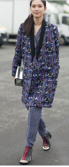 amazing purple coat