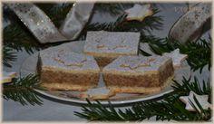 Linecký koláč s ořechovou náplní | Vaříme doma Czech Recipes, Cheesecake, Sweet, Food, Candy, Cheesecakes, Essen, Meals, Yemek
