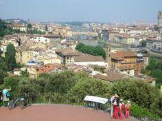 Piazzle Michelangelo overlooking Florence, Italy